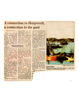A Connection to Harpswell, a Connection to the Past