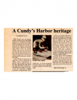 A Cundys Harbor Heritage