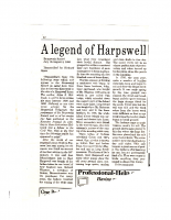 A Legend of Harpswell