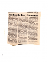 Building the Perry Monument
