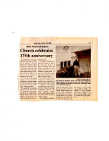 Church Celebrates 175th Anniversary