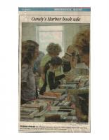 Cundys Harbor Book Sale