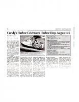 Cundy's Harbor Celebrates Harbor Days