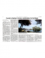 Cundy's Harbor Library Celebrates its Heritage