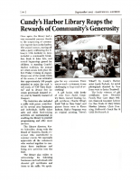 Cundy's Harbor Library Reaps the Reward of Community's Generousity