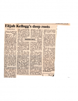Elijah Kellogg's Deep Roots