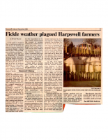 Fickle Weather Plagued Harpswell Farmers