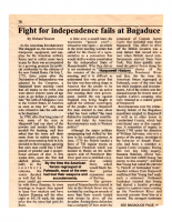 Fight For Independences Fails At Bagaduce