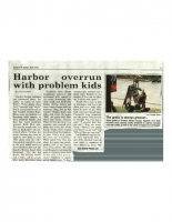 Harbor Overrun with Problem Kids