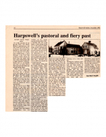 Harpswell Pastoral and Fiery Past