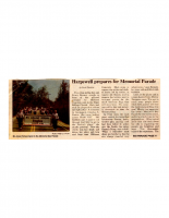 Harpswell Prepares for Memorial Parade