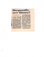 Harpswell's New Library