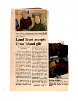 Land Trust Accepts Crow Island Gift