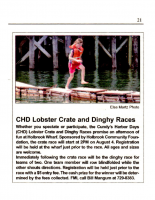 Lobster Crate and Dinghy Races