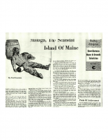 Malaga The Scandal Island of Maine