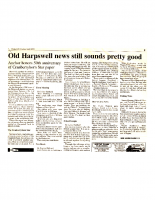 Old Harpswell News Still Sounds Pretty Good