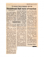 Steamboats Fuel Wave of Tourism