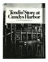 Tending Store at Cundy's Harbor