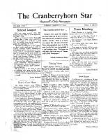 The Cranberryhorn Star