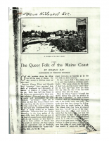 The Queer Folk of the Maine Coast